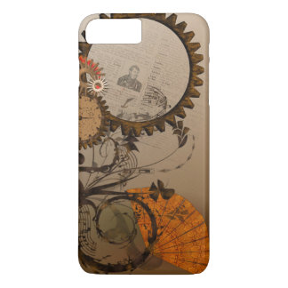 Steampunk embraye le coque iphone dans les bruns