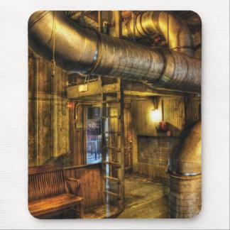 SteamPunk - où les tuyaux disparaissent Tapis De Souris