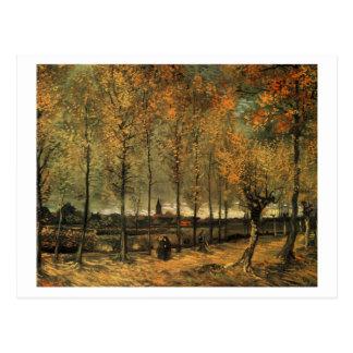 Steeg met Populieren, Vincent van Gogh Wenskaarten