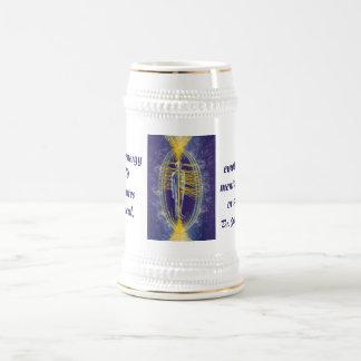 Stein de champ d'énergie de Beaulieu Chope À Bière