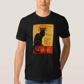 Steinlen : Conversation Noir Tee-shirts