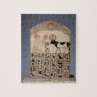 Stela au taureau d'api (chaux peinte) puzzle