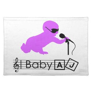 Ster Placemat van de Rots van het baby AJ