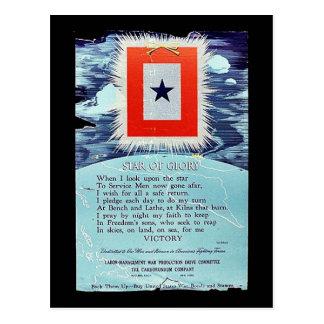 Ster van de Overwinning van de Glorie Briefkaart