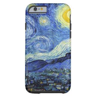 Sterrige Nacht door Vincent van Gogh Tough iPhone 6 Hoesje