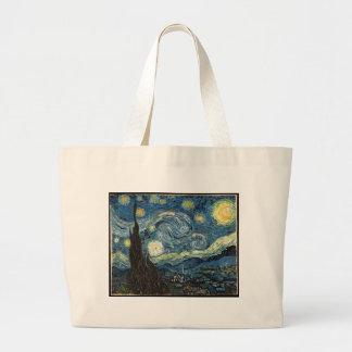 Sterrige Nacht door Vincent van Gogh Jumbo Draagtas