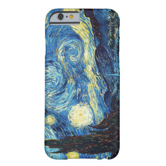 Sterrige Nacht - Van Gogh Barely There iPhone 6 Hoesje