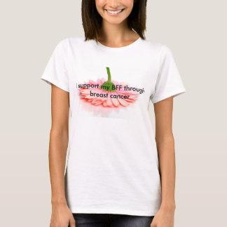 Steun uw beste vriend, BFF, met borstkanker T Shirt