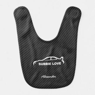 STI Impreza van Subaru WRX - Liefde Subbie Baby Slabbetje