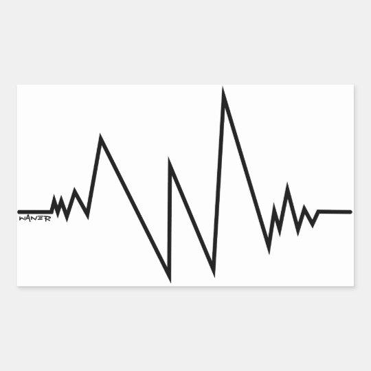 Sticker cardiogramme