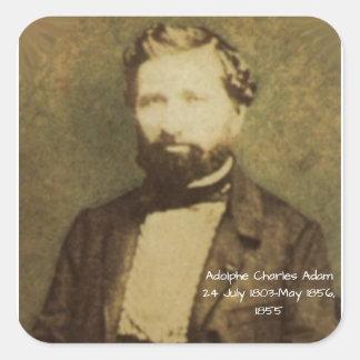 Sticker Carré Adolphe Charles Adam, 1855
