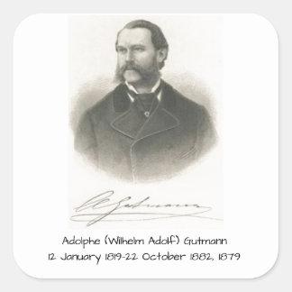 Sticker Carré Adolphe (Wilhelm Adolf) Gutmann
