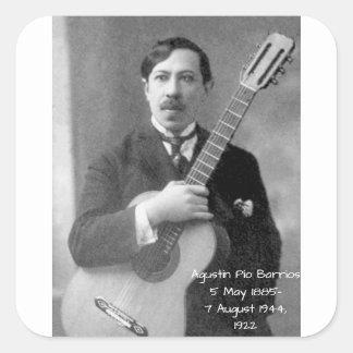 Sticker Carré Agustín Pio Barrios, 1922