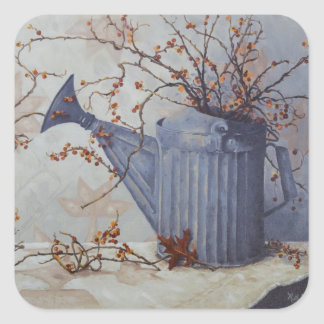 Sticker Carré Amertume 6033 dans la boîte d'arrosage sur des