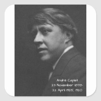 Sticker Carré André Caplet 1920