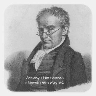 Sticker Carré Anthony Philip Heinrich