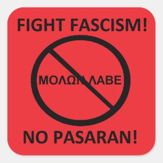 Sticker Carré anti 2ème amendement