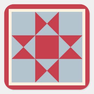 Sticker Carré Approvisionnements d'emballage cadeau - bloc