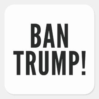 Sticker Carré Atout d'interdiction !