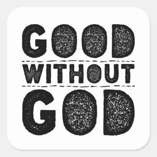 Sticker Carré Bon sans Dieu
