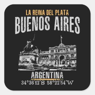 Sticker Carré Buenos Aires
