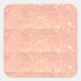 Sticker Carré But multi Écrire-sur le métier de papier décoratif