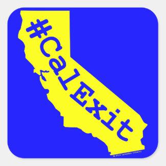 Sticker Carré CalExit