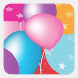 Sticker Carré Célébrations Celeberations Baloons