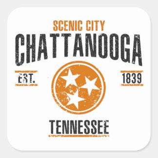 Sticker Carré Chattanooga