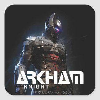 Sticker Carré Chevalier de Batman | Arkham