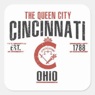Sticker Carré Cincinnati