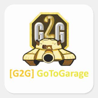 Sticker Carré Clan de G2G