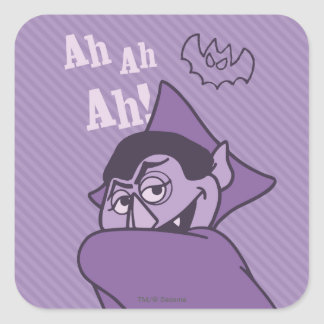 Sticker Carré Compte von Count - oh oh oh !