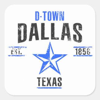 Sticker Carré Dallas