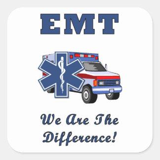 Sticker Carré EMT nous sommes la différence