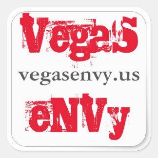 Sticker Carré Envie de Vegas