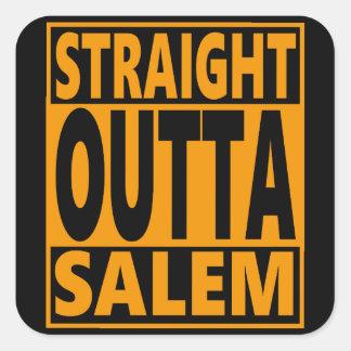 Sticker Carré Fanatique droit d'Outta Salem Halloween