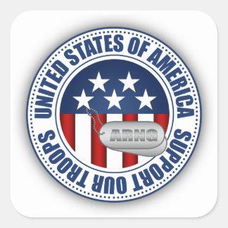 Sticker Carré Garde nationale d'armée