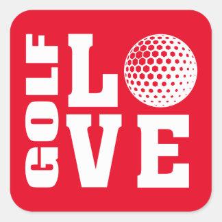 Sticker Carré Golf