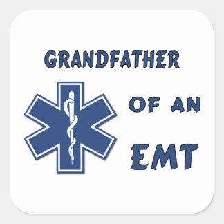 Sticker Carré Grand-père d'un EMT