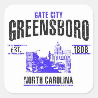 Sticker Carré Greensboro