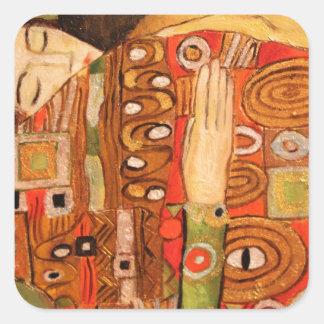 Sticker Carré Gustav Klimt