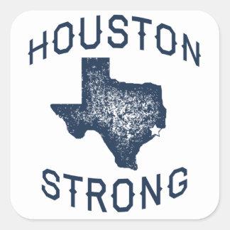 Sticker Carré Houston fort - Harvey