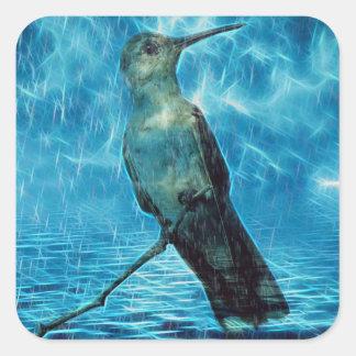 Sticker Carré Hummer et l'ouragan