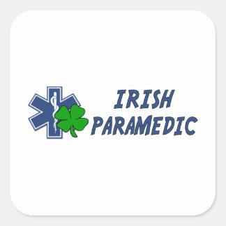 Sticker Carré Infirmier irlandais