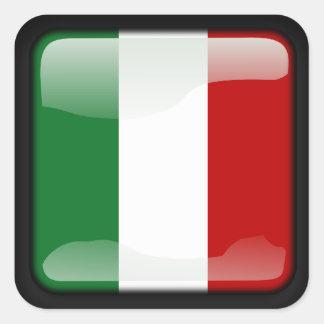 Sticker Carré Italien poli