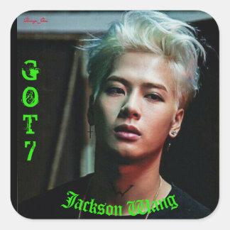 Sticker Carré Jackson Wang