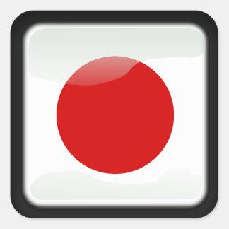 Sticker Carré Japonais poli