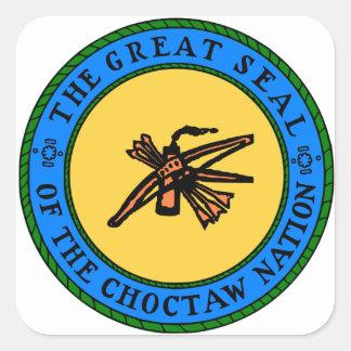 Sticker Carré Joint de Choctaw