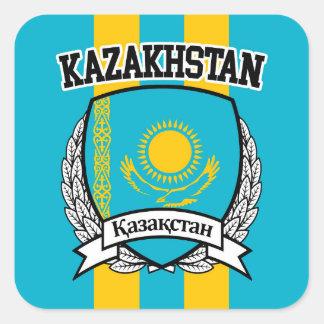 Sticker Carré Kazakhstan